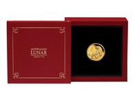 Australia 2022 Lunar III - Tiikerin vuosi 1/10oz kulta, Proof