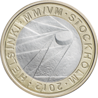 Suomi 5 € 2012 Jääkiekko
