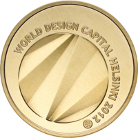Suomi 5 € 2012 World Design Capital
