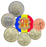 Andorra 5s - 2 € 2014 UNC