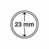 Kolikkokapseli CAPS23 (1 euro, USA Nickel) 10 kpl