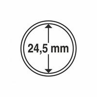 Kolikkokapseli CAPS24.5 (50 senttiä, USA Quarter) 10 kpl