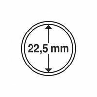 Kolikkokapseli CAPS22.5 (20 senttiä) 10 kpl