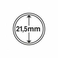 Kolikkokapseli CAPS21.5 (5 senttiä, USA Nickel) 10 kpl