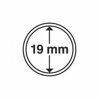 Kolikkokapseli CAPS19 (2 senttiä, USA Penny) 10 kpl
