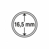 Kolikkokapseli CAPS16.5 (1 sentti) 10 kpl