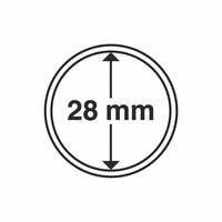 Kolikkokapseli CAPS28 (5 euro) 10 kpl
