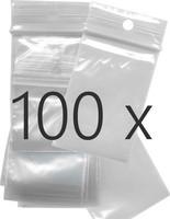 Salpapussit kirkas 40 x 60 x 0.05 mm 100 kpl