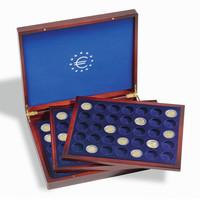 Leuchtturm säilytyslaatikko Volterra Trio de Luxe 105:lle 2 euron kolikolle