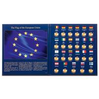 Leuchtturm Presso kolikkokansio EU:n lippu 30 vuotta