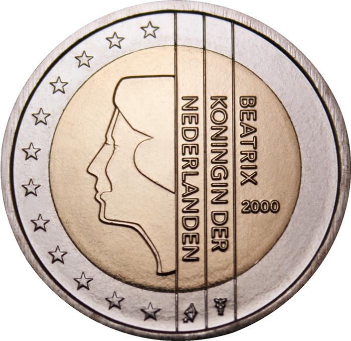Alankomaat 2 € 2000 Beatrix UNC - Eurospecial.fi