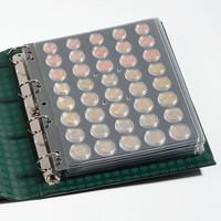 Leuchtturm ENCAP- lehti, 1 c - 2 € kolikoille kapseleissa 2-pack