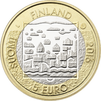 Suomi 5 € 2016 Suomen Presidentit - L.K. Relander UNC