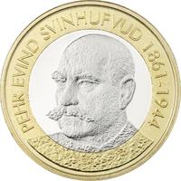 Suomi 5 € 2016 Suomen Presidentit - P. E. Svinhufvud UNC