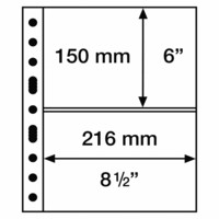 Leuchtturm Grande 2C- välilehti, 5-pack, kirkas