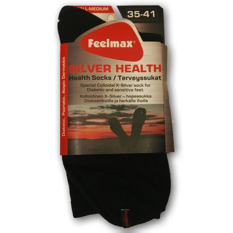 Feelmax - Silver Health, hopeasukka, normaali sukka