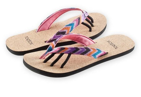 ToeSox - Maya Fiesta Toe Sandals