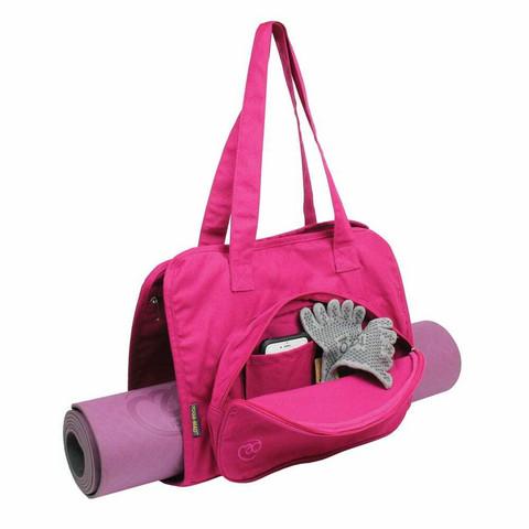 Yoga Mad - Jooga- ja pilatesmattokassi, pinkki