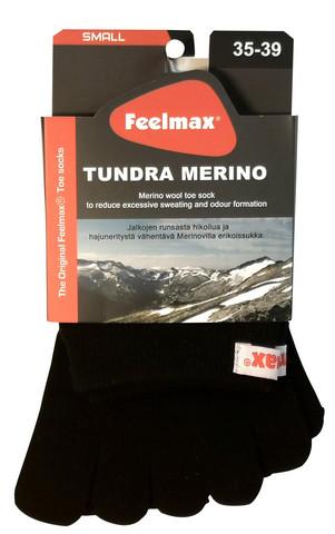 Feelmax - Tundra Merino, toe socks