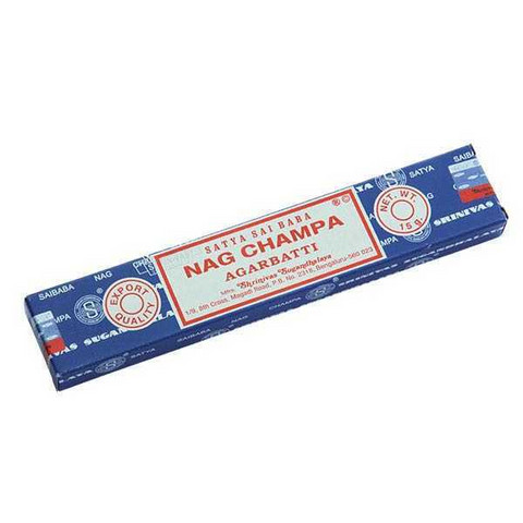 Sai Baba Nag Champa incense, 15 g
