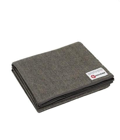 Manduka - Recycled Wool Blanket - Sediment / One Size