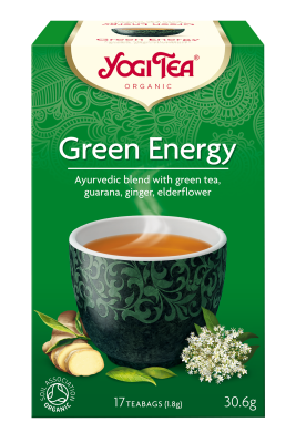 Yogi Tea - Green Energy, luomutee