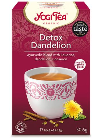 Yogi Tea - Detox Dandelion, luomutee