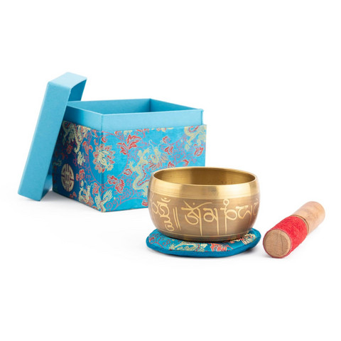 Indian Singing Bowl 11 cm, gift box