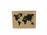 Iso maailmankartta 90x60 cm, korkki