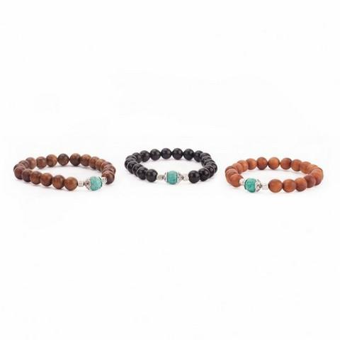 Mala bracelets, 3 pcs