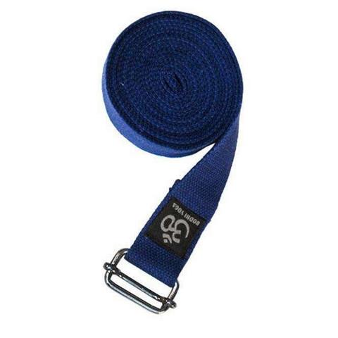 Yoga strap ASANA BELT PRO, 3 m, with metal buckle