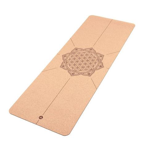 Bodhi - Korkki joogamatto FLOWER OF LIFE, 4 mm