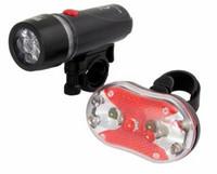 Polkypyörän LED etu- ja takavalosarja Alphecca