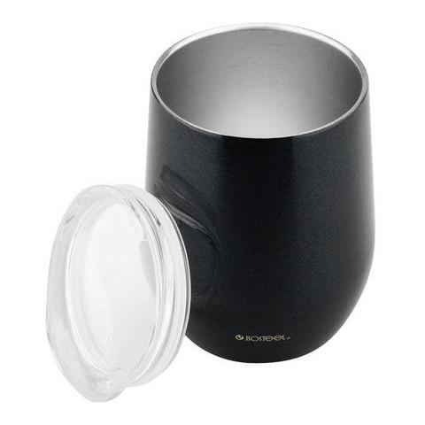 Isosteel - To Go termoskuppi 0,36L musta