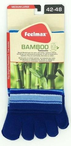Feelmax - Bambu Toe Socks, Striped