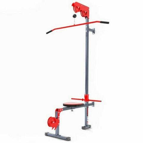 K-Sport - Seinään kiinnitettävä ylä-/alatalja kiinteällä penkillä