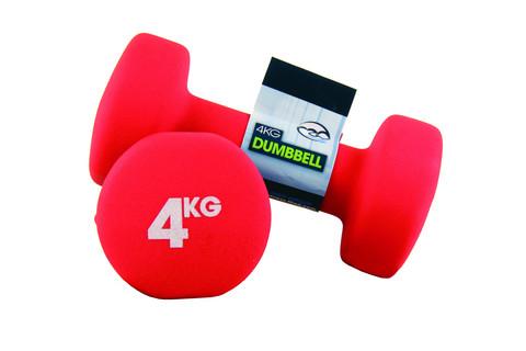 Fitness Mad - Neopreeni käsipainot, 4,0 kg