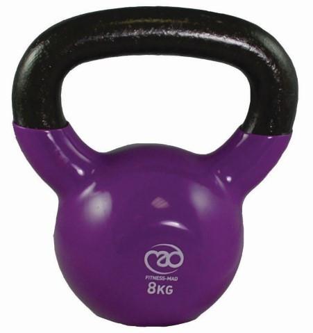 Fitness Mad - Kahvakuula 8 kg, violetti