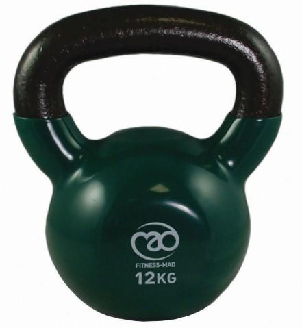 Fitness Mad - Kahvakuula 12 kg, vihreä