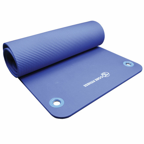 Fitness Mad - Core Fitness Mat, 10 mm with Eyelets