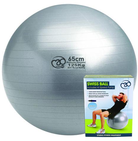 Fitness Mad - Fitnesspallo, 65 cm, 125 kg