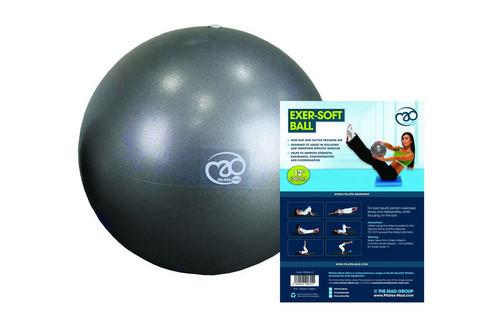 Pilates Mad - 12'' Exer-Soft Ball, Graphite