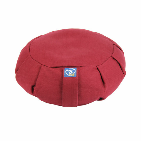 Yoga Mad - Pleated Round Zafu Buckwheat