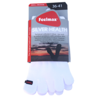 Feelmax - Silver Health White, erikoisvarvassukat