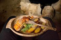 Kupilka - aterimet, Original. Haarukka, veitsi, lusikka ja teelusikka.