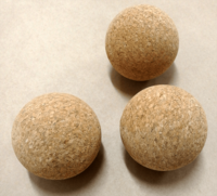 Fascia Cork Sphere, 75 mm - 10 pcs