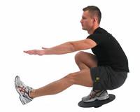 Fitness Mad - Säädettävä tasapainolauta