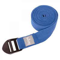 Yoga strap ASANA BELT, with plastic buckle