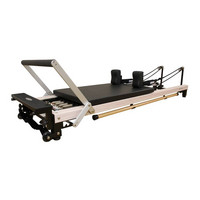 C2 Pro RC Pilates Reformer Wood Effect