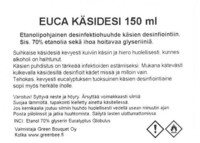 Euca Hand Disinfectant, 150 ml